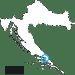 mapa hrvatske